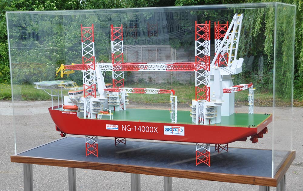 Exhibition Stand Legs : Scale ship models marine model makers