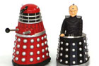Licensed merchandise for the TV series Dr Who